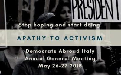 Democrats Abroad Italy Meets in Milan
