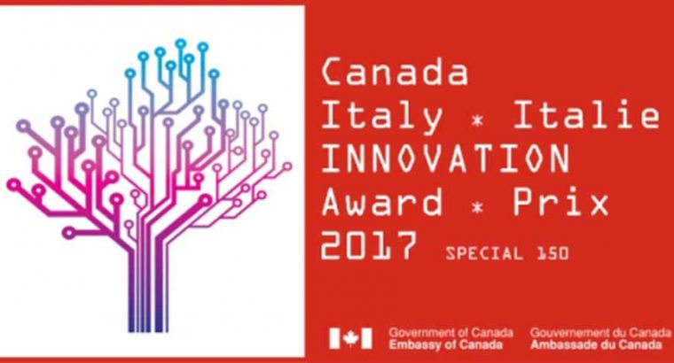 Canada-Italy Innovation Award 2017