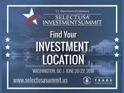 Apply NOW for the SelectUSA Investment Summit 2018