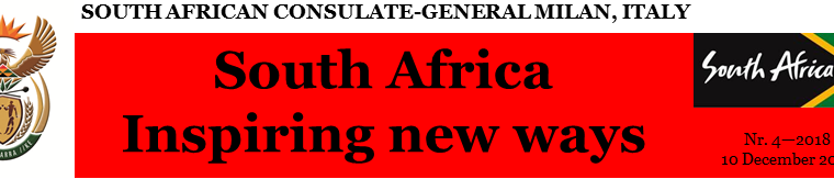 SOUTH AFRICA: INSPIRING NEW WAYS – (from NEWSLETTER 04/2018)
