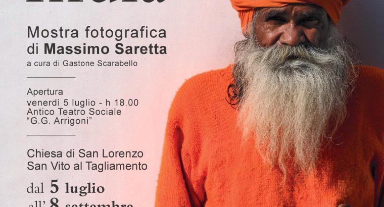 """""""UN'IDEA DI INDIA"""" DI MASSIMO SARETTA – MOSTRA FOTOGRAFICA, DAL 5 LUGLIO AL 8 SETTEMBRE 2019"""