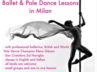 Ballet and Pole Dance Lessons in Milan