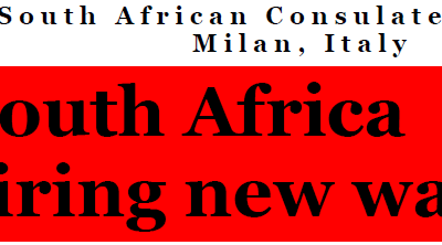 South Africa Inspiring New Ways, Message from Consul-General Titi S Nxumalo
