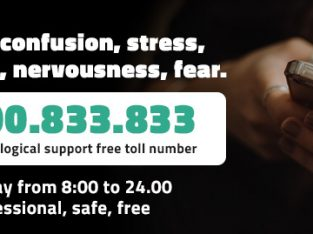Covid-19 Psychological support free toll number