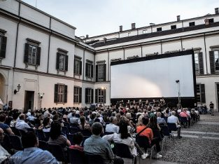 Open Air Cinema at Palazzo Reale