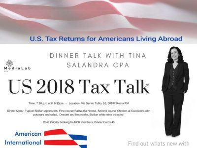 US Tax Returns & Expats: Trump Effect 2019 Filing and Tax Issues Seminar