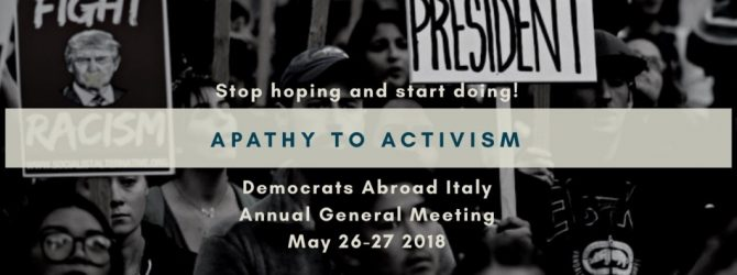 Democrats Abroad Italy Meets in Milan