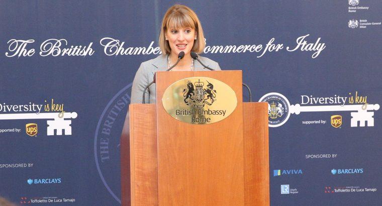 British Ambassador Jill Morris at Diversity is Key Conference