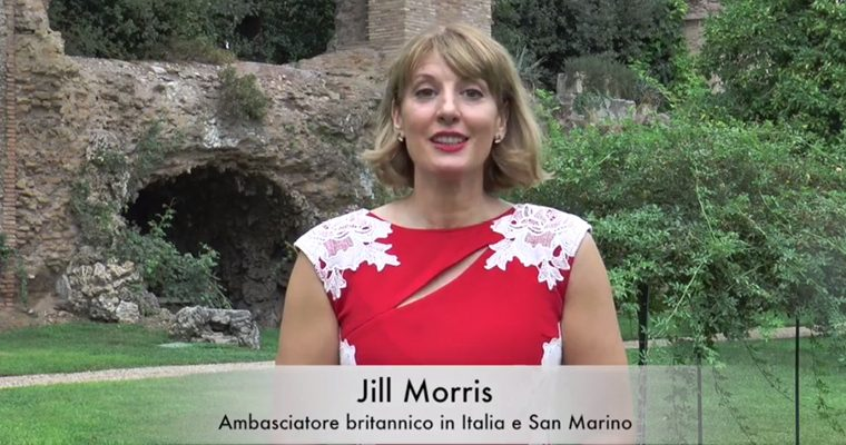 Welcome to HMA Jill Morris, British Ambassador to Italy and San Marino