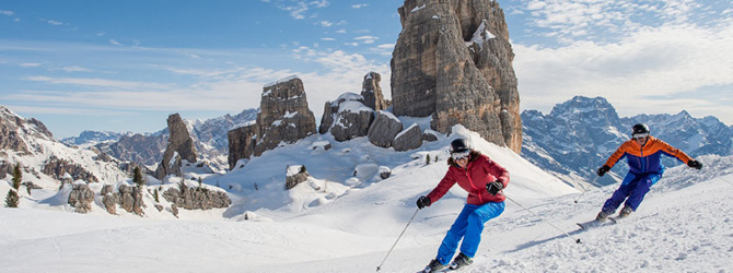 Top 10 Ski Locations in Italy