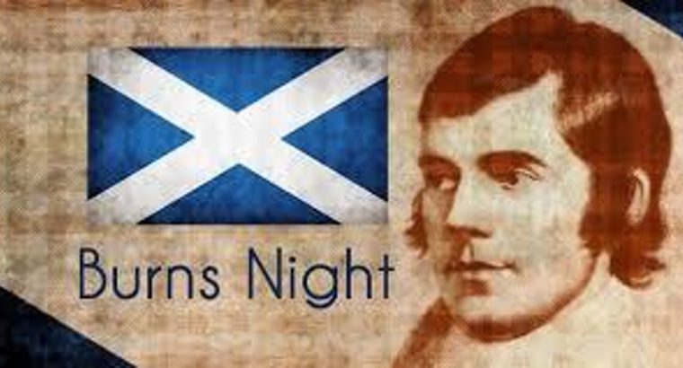 Why do Scots hold a Burns supper?
