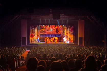 Performances at the Teatro della Luna