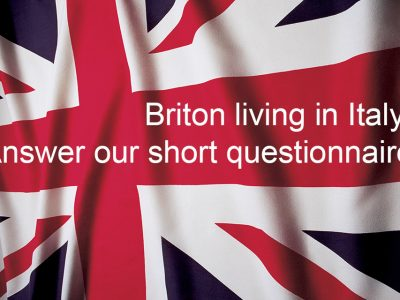 The British Embassy Rome launches its first questionnaire for British expats in Italy