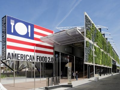 James Biber architect of the USA Pavilion chats with Easy Milano