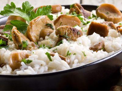 Risotto ai Funghi Porcini – Porcini risotto