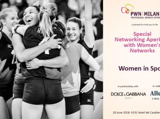PWN Milan – Women in Sports – Special Networking Aperitivo with Women's Network