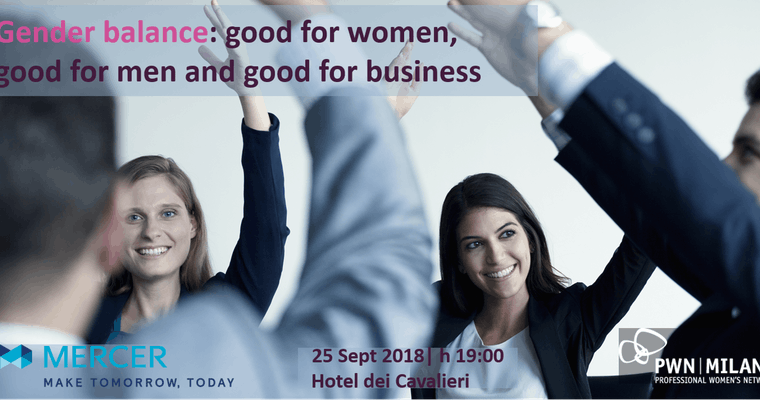 PWN Milan – Empowering Talk Event – Gender balance, Guest Speaker: Paul Walentynowicz, 25 Sept.