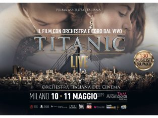 TITANIC LIVE – L'Orchestra italiana del Cinema – May 10 and 11 at Arcimboldi Theater – Milan