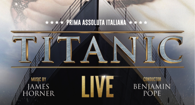 Titanic live poster