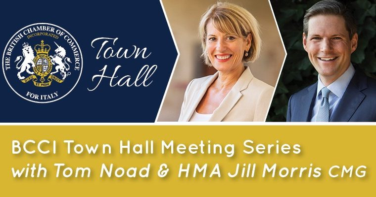 BCCI Town Hall Meeting with Tom Noad and HM Ambassador Jill Morris