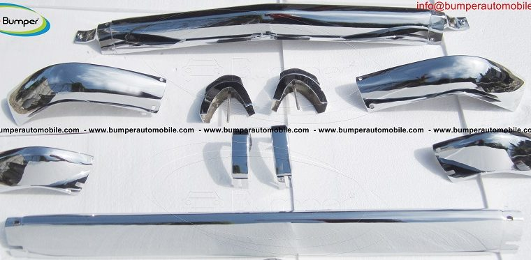 BMW 2002 1602 bumper kit (1968 -1971) by stainless steel