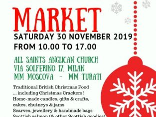 November 30, 2019 Christmas Market at All Saints Anglican Church