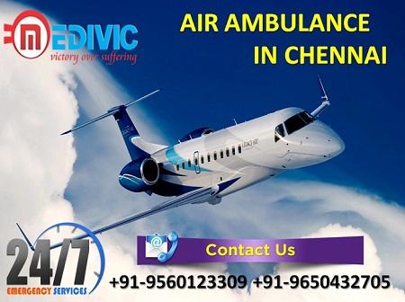 Air Ambulance in Chennai