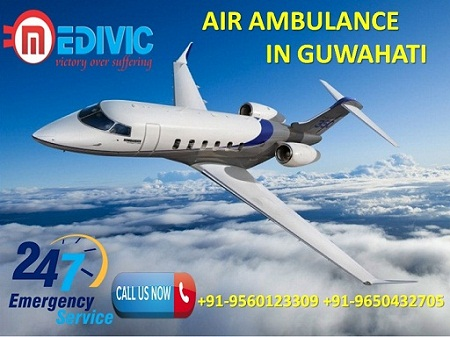 Air Ambulance in Guwahati