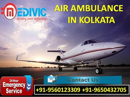 Medivic Aviation Air Ambulance in Kolkata