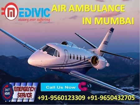 Medivic Aviation Air Ambulance in Mumbai