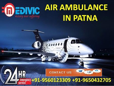 Medivic Aviation Air Ambulance in Patna