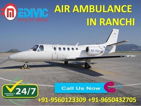 Medivic Aviation Air Ambulance in Ranchi