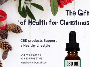 CBD products – The gift of health for Christmas