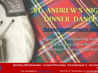 November 16, 2019 St. Andrew's Night Dinner Dance
