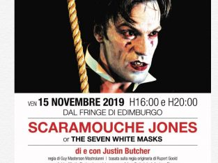 English Theatre Milan: performance of Scaramouche Jones and My Darling Clemmie,15 – 17 November