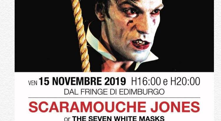 English Theatre Milan: performance of Scaramouche Jones and My Darling Clemmie,15 – 17November