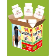 AROGYAM PURE HERBS HAIR CARE KIT.