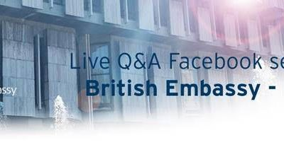 Live Q & A Session with British Embassy Rome, 27 August 2020