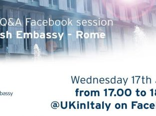 Jun 17, 2020 British Embassy Live Q&A – Facebook session