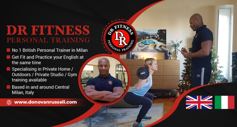 British Personal Trainer/Coach In Central Milan