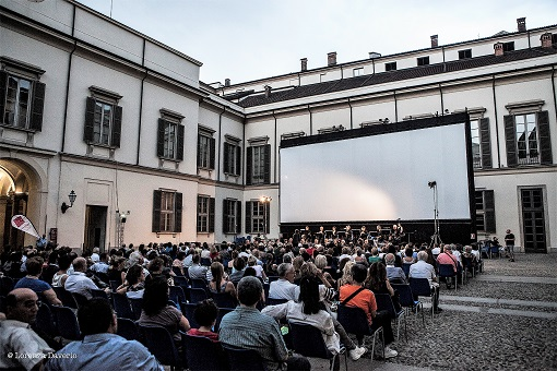 Open Air Cinema at Palazzo Reale