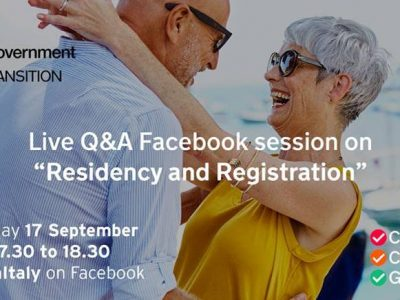 Readout of Residency and Registration FaceBook live event