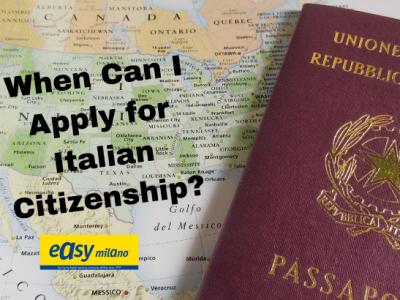 When can I apply for Italian dual citizenship after residency?