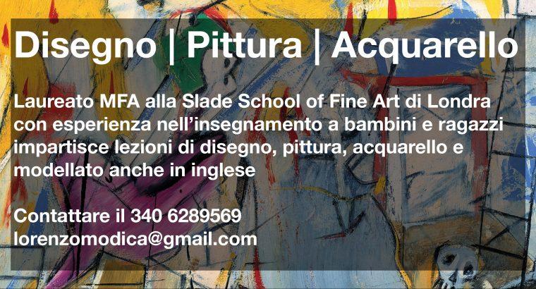 Lezioni disegno : pittura Milano