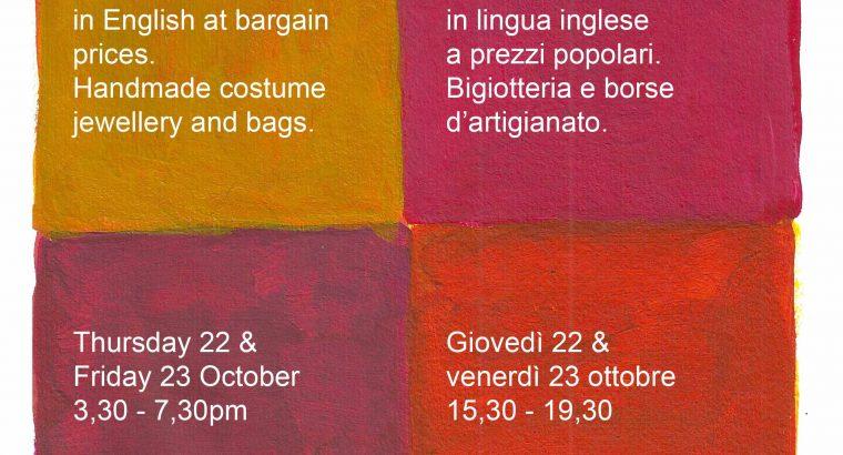 Autumn Book Fair 2020 All Saints Church Milan