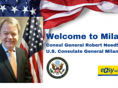 Welcome U.S. Consul General in Milan, Robert Needham