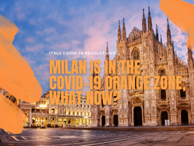 Milan is in the Covid-19 Orange Zone (again), What Now?