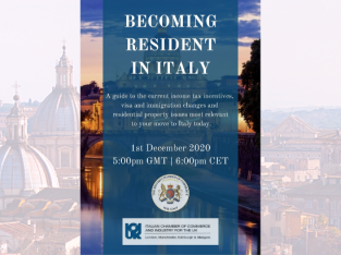 Becoming a Resident in Italy