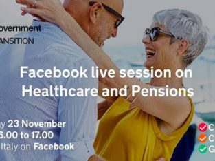 Healthcare & Pensions – Live Q&A Facebook session, 16:00-17:00 on Monday 23 November