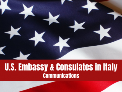 COVID-19 Information from U.S. Embassy and Consulates in Italy